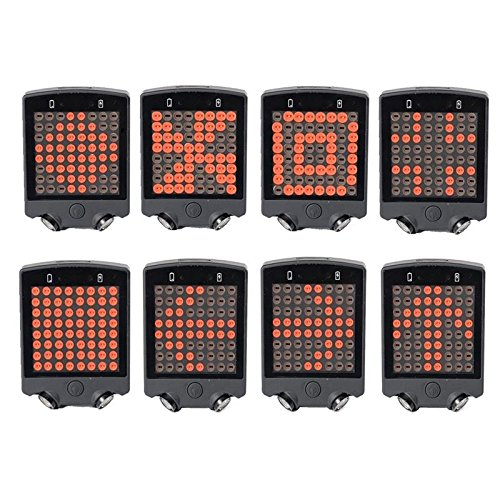 Sports - 64 LED Wireless Rear Laser Bicycle Light