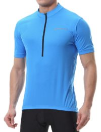Spotti Basics Men's Short Sleeve Cycling Jersey - Bike Biking Shirt