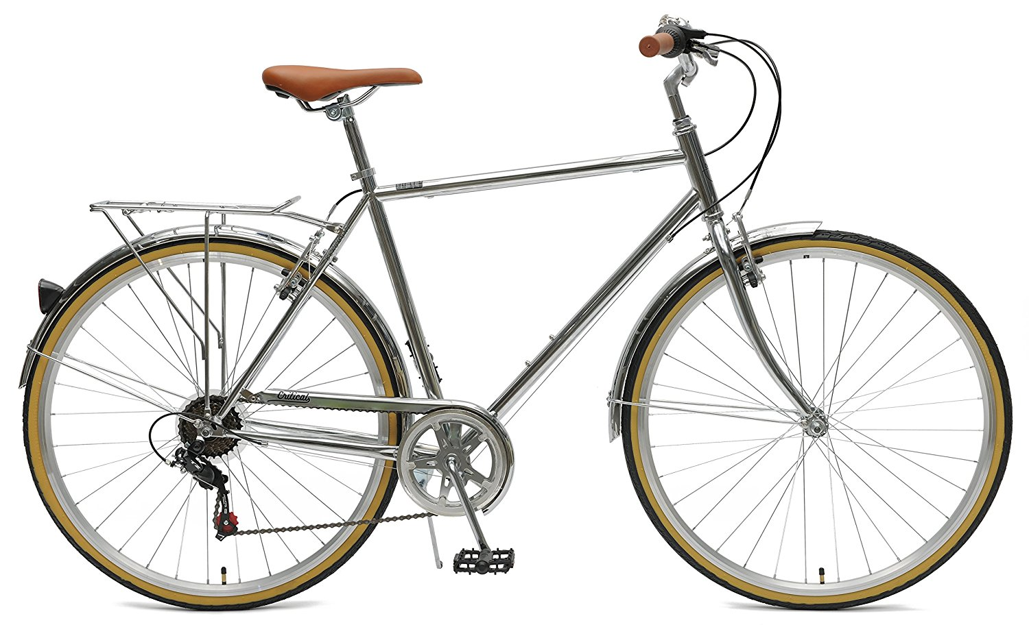 Critical Cycles Beaumont-7 Seven Speed City Commuter Bike